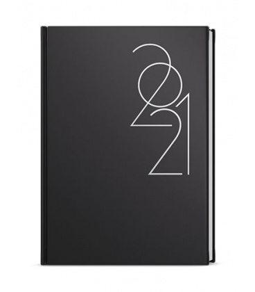 Weekly Diary A5 - Oskar - ForMen - Black 2021
