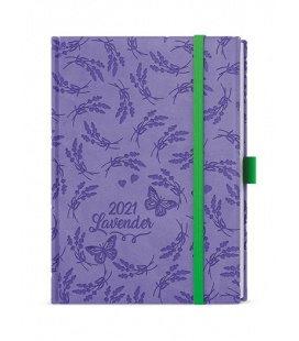 Weekly Diary B6 - Prokop - vivella extra purple - Levandule 2021