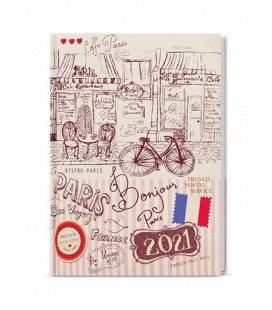Daily Diary B6 - Adam - lamino - Paříž 2021
