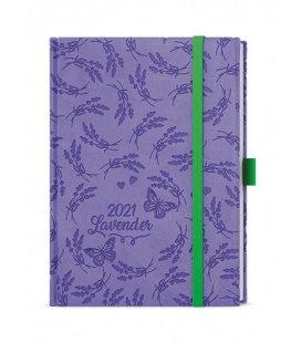 Daily Diary B6 - Adam - vivella extra purple - Levandule 2021