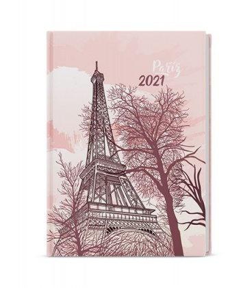 Daily Diary A5 - David - lamino  - Eiffelovka 2021
