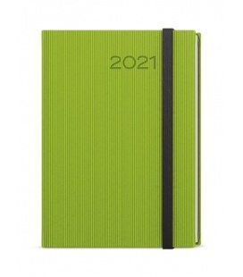Daily Diary A5 - David - vigo  green, black 2021
