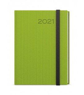 Daily Diary A5 - David - vigo  green, black 2021