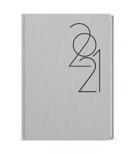 Daily Diary A5 - David - ForMen - Silver 2021
