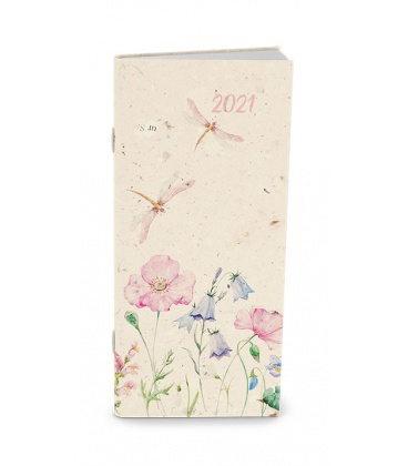 Monthly Pocket Diary - Božka - lamino - Zvonek 2021