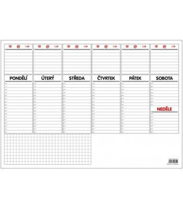 Table calendar Stolní plánovač A3 - týd. mapa - 30 listů 2021