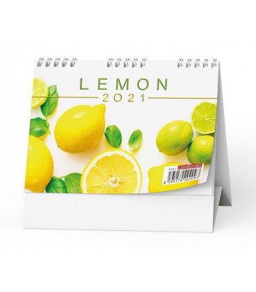 Table calendar Lemon 2021