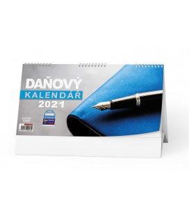 Table calendar Daňový kalendář 2021