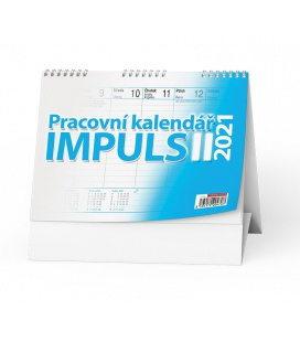 Table calendar Pracovní kalendář IMPULS II 2021