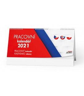 Table calendar Pracovní kalendář  (CZ - SK - PL) 2021
