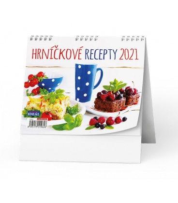 Table calendar IDEÁL - Hrníčkové recepty 2021