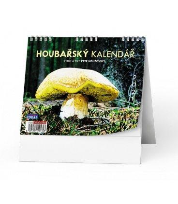 Table calendar IDEÁL - Houbařský  kalendář 2021