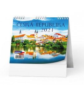 Table calendar IDEÁL - Česká republika 2021