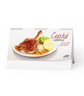 Table calendar Česká vařečka 2021