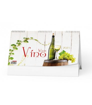 Table calendar Víno 2021
