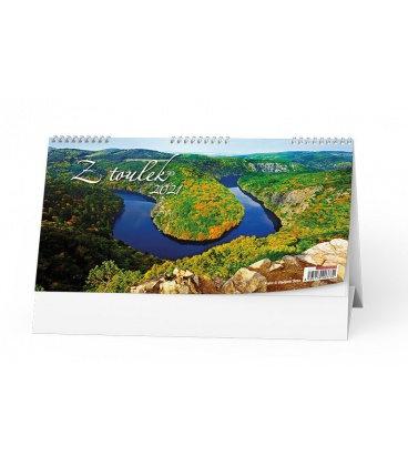 Table calendar Z toulek 2021