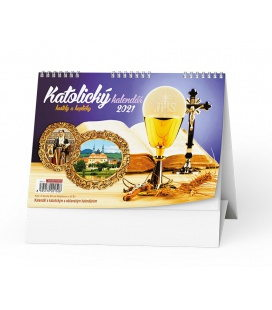 Table calendar Katolický kalendář /kostely a kapličky/ 2021