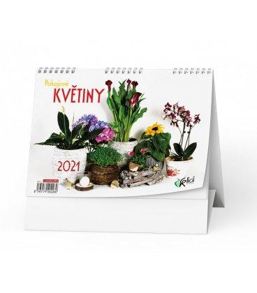 Table calendar Pokojové květiny 2021