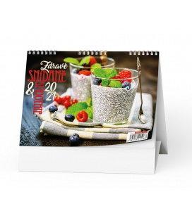 Table calendar Zdravé snídaně + smoothie 2021