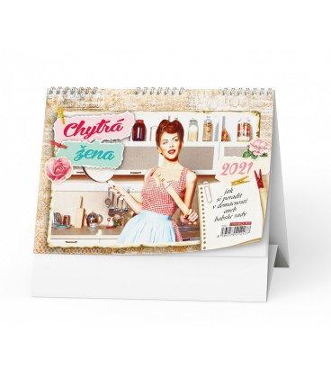 Table calendar Chytrá žena 2021