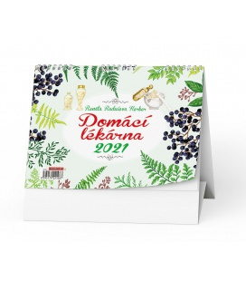 Table calendar Domácí lékárna (Renata Raduševa Herber) 2021