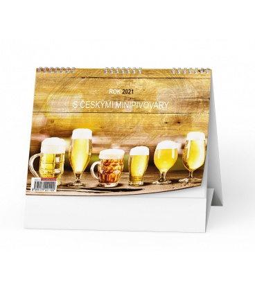 Table calendar Rok 2021 s českými minipivovary 2021
