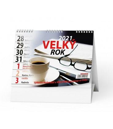 Table calendar Velký rok 2021