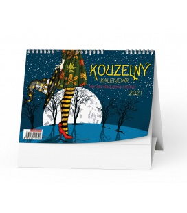 Table calendar Kouzelný kalendář (Renata Raduševa Herber) 2021