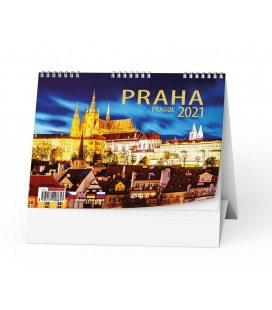Table calendar Praha 2021