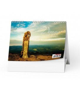 Table calendar Z domova 2021