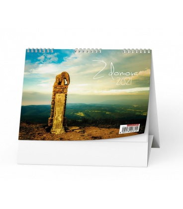 Table calendar Z domova 2021
