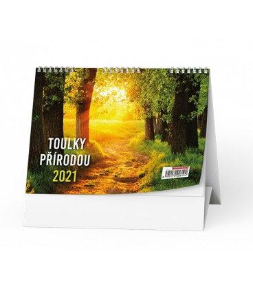 Table calendar Toulky přírodou 2021