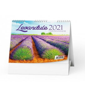 Table calendar Levandule  2021
