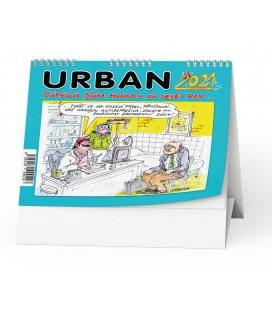 Table calendar Urban 2021 -  Pivrncova dávka humoru na celej rok… 2021