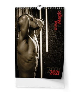 Wall calendar Magic Man - A3 2021