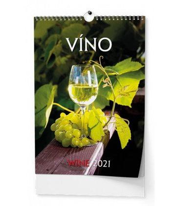 Wall calendar Víno - A3 2021