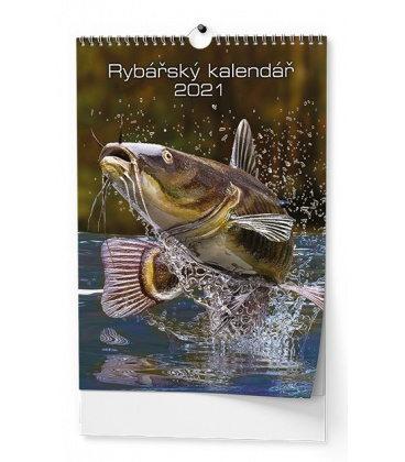 Wall calendar Rybářský kalendář  - A3 2021