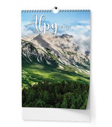 Wall calendar Alpy - A3 2021