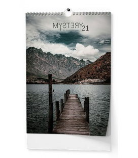 Wall calendar Mystery (Dan Baloušek) - A3 2021