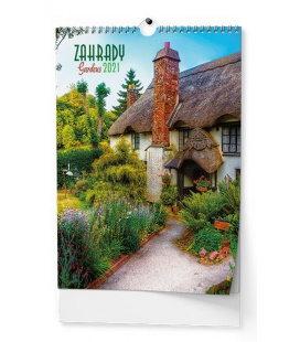 Wall calendar Zahrady - A3 2021