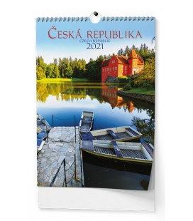Wall calendar Česká republika - A3 2021