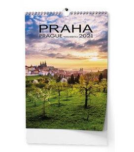 Wall calendar Praha - A3  2021