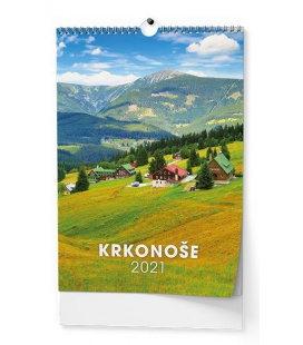 Wall calendar Krkonoše - A3 2021