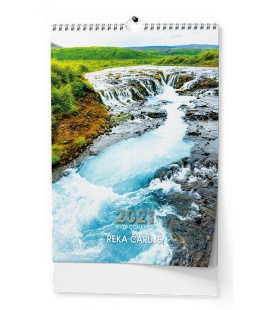 Wall calendar Řeka čaruje - A3 2021