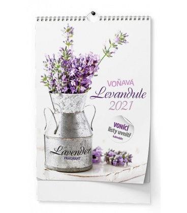 Wall calendar Voňavý kalendář - Voňavá levandule - A3 2021