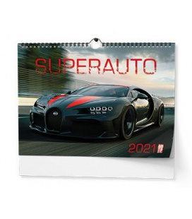 Wall calendar Superauto - A3 2021