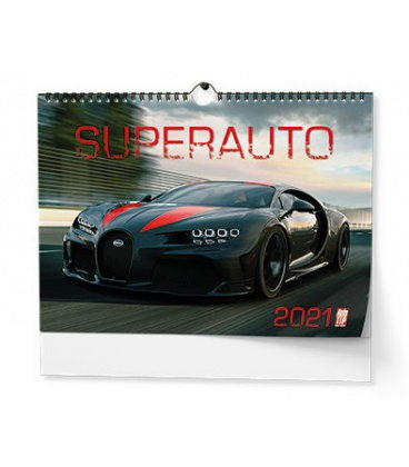 Wall calendar Superauto - A3 2021