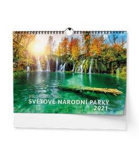 Wall calendar Světové národní parky 2021