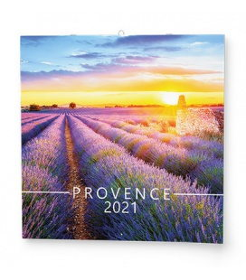 Wall calendar note Provence 2021