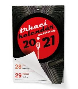 Wall calendar Trhací kalendář - Senior I. - A6 2021